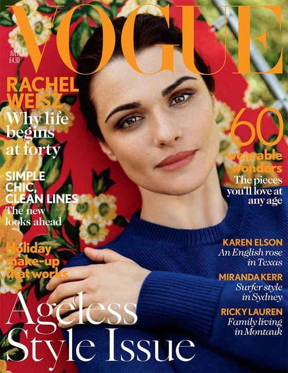 Rachel Weisz Vogue UK