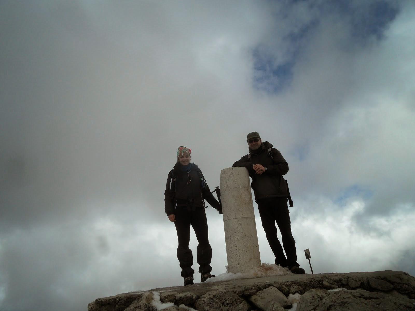 Pico Mágina. Techo de Jaén.
