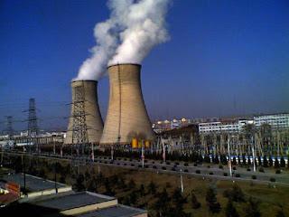 Chinese thermal power plant