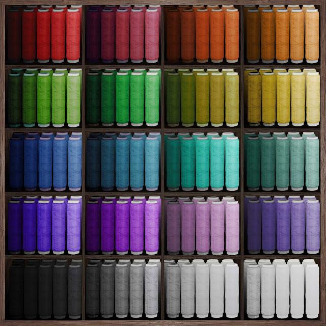 muestrario, hilos, colores, dibujo