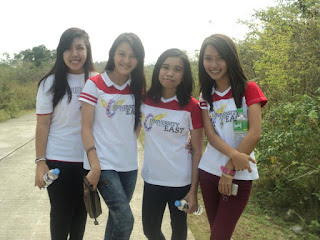 Terry Pilarca, Anelle Cuasay, Nikka Anico and Nikka Flores at Mount Nagpatong