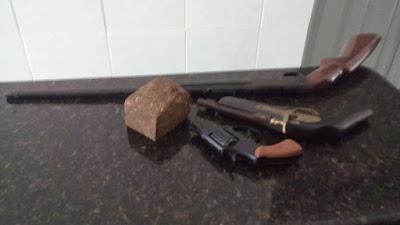 Rosário-MA: Operação da polícia militar apreendeu um menor acusado de homicio, armas e drogas