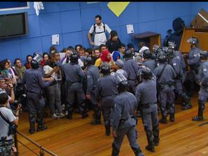 Vandalismo no Legislativo - Campinas