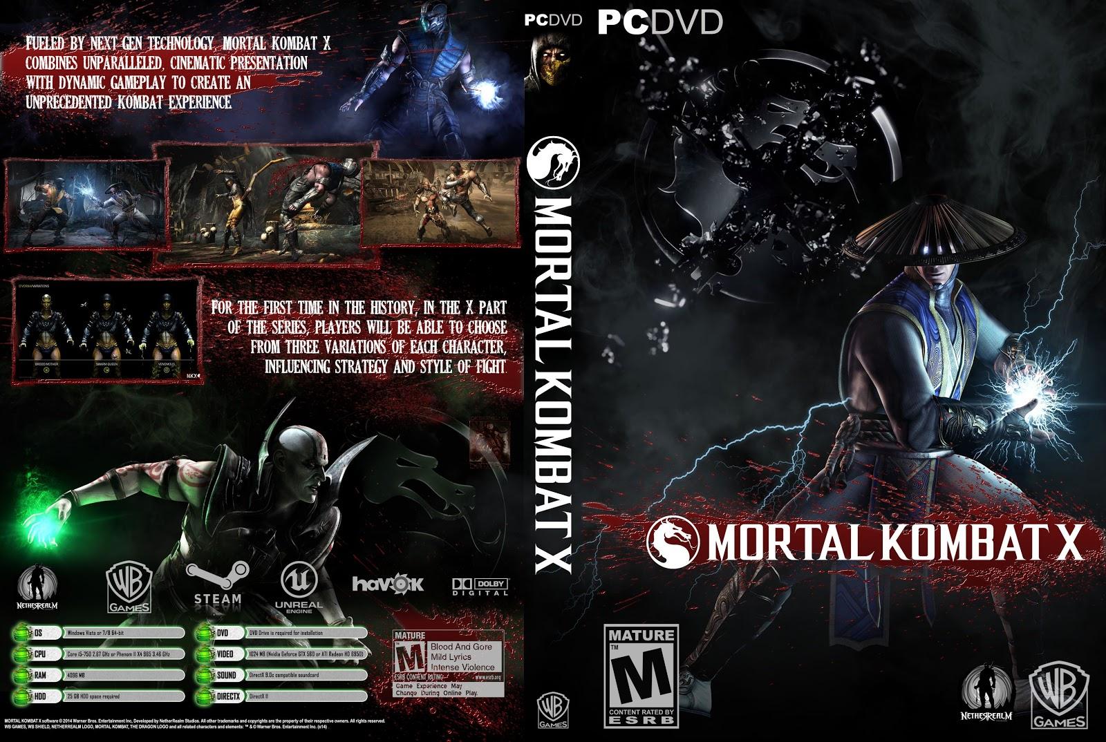 Capa Mortal Kombat X PC