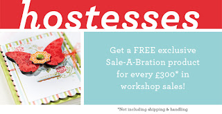 Sale-a-Bration get free stamp sets and papers when you host a party