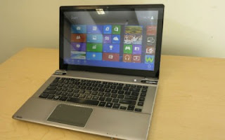 Toshiba Satellite U925t dengan Perangkat Hybrid Tablet-Ultrabook Windows 8