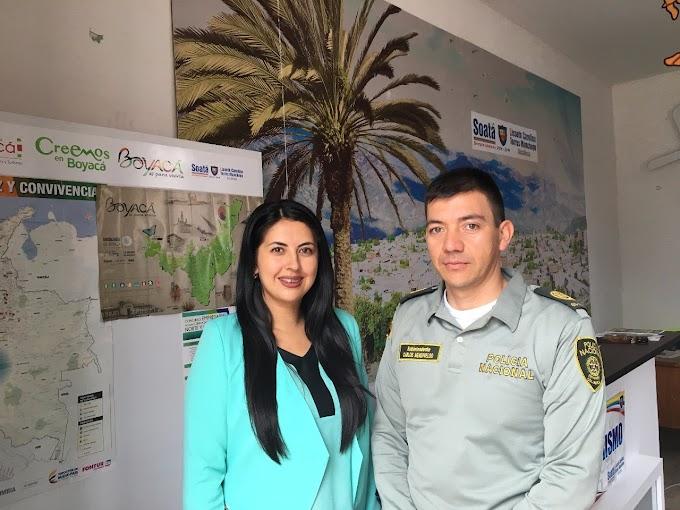 Soatá ya tiene Policía de Turismo