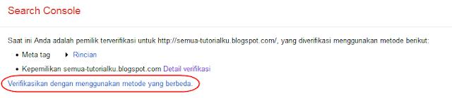 Cara Mendapatkan Kode Verifikasi Google Webmaster Terbaru