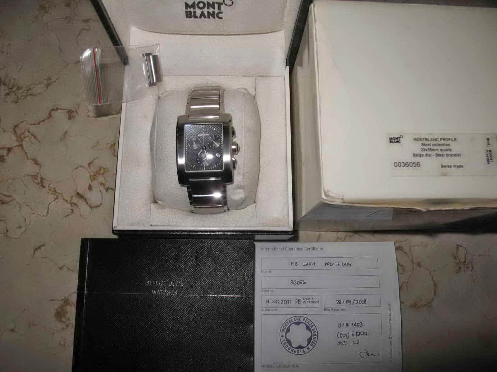SUPERB lengkap dengan box manual dan warrant card Cocok untuk Anda yang sedang mencari jam tangan dengan bentuk case kotak Swiss made