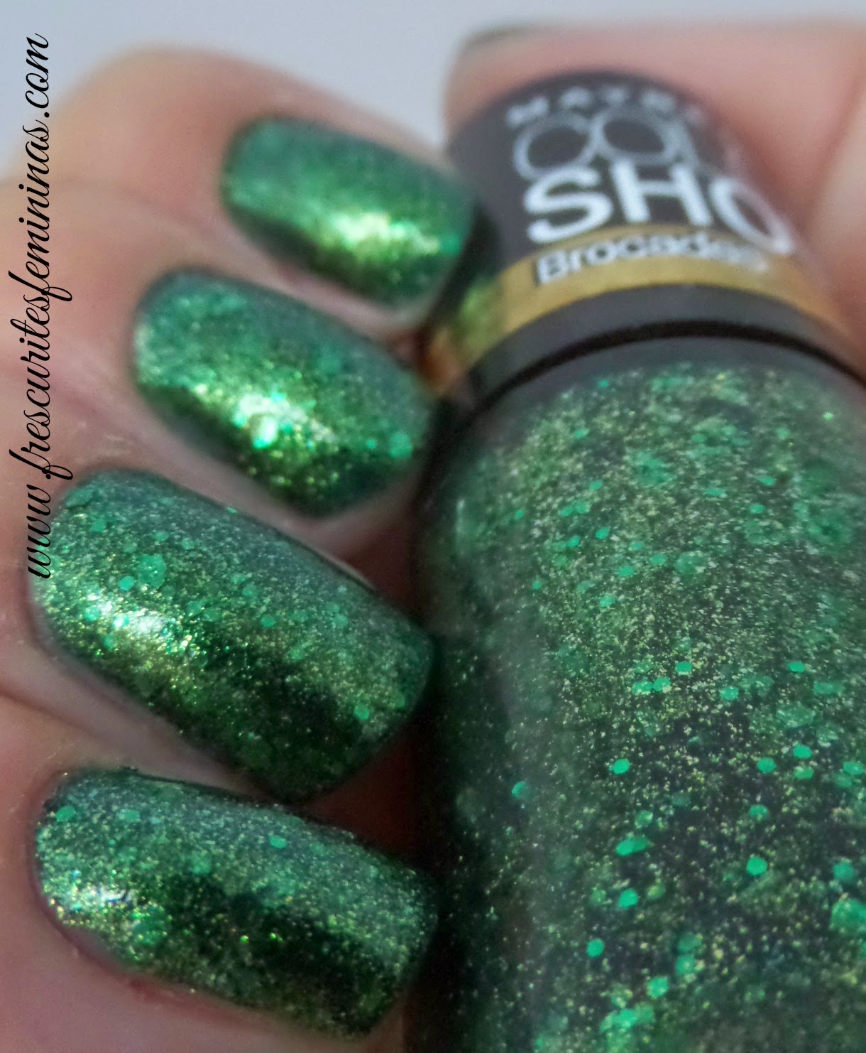 Maybelline, Emerald Elegance, Frescurites Femininas, Brocades