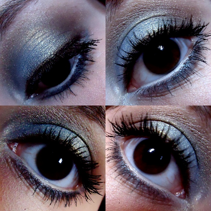make azul com marrom com palette coastal scents