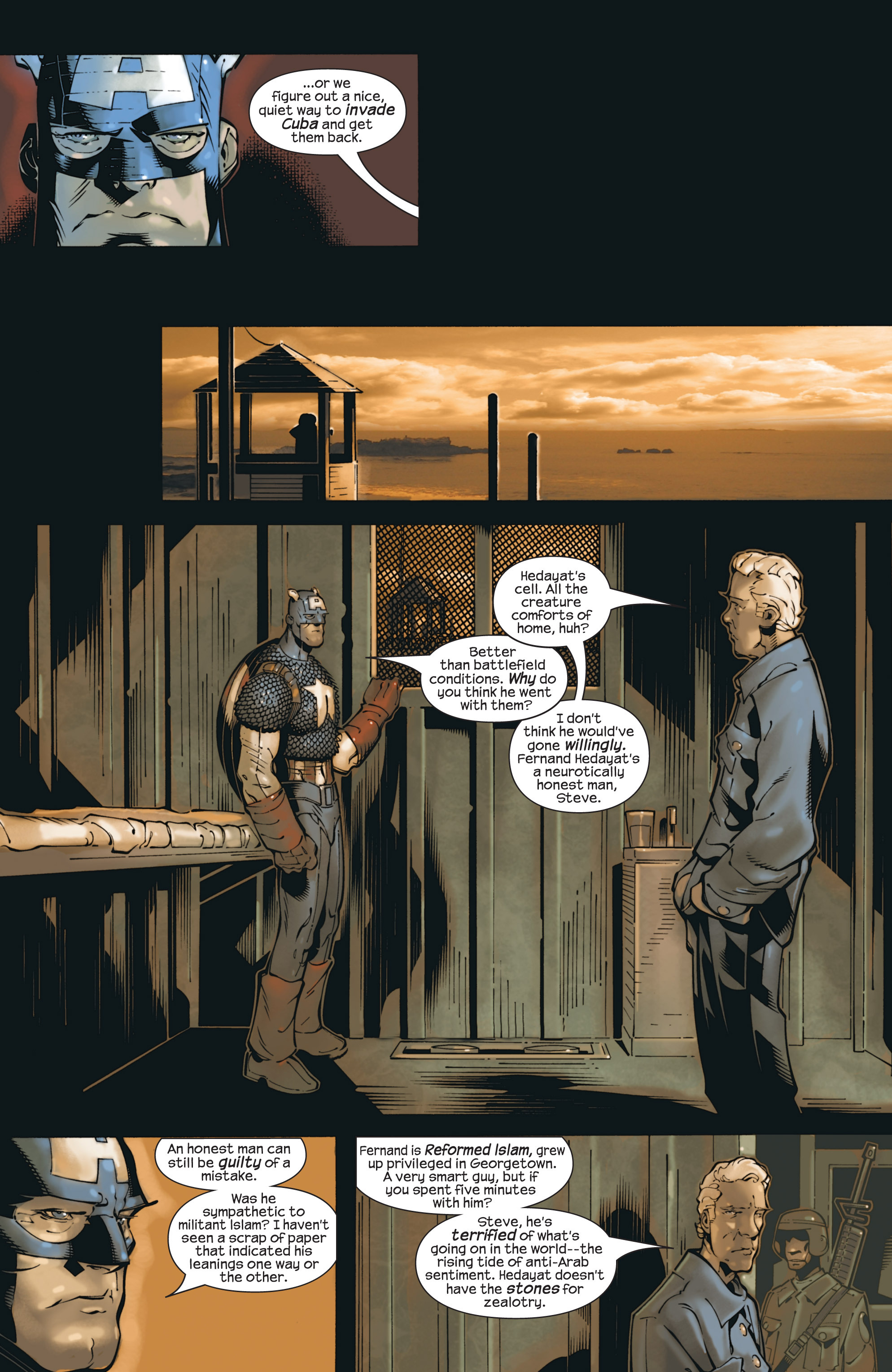 Captain America (2002) Issue #23 #24 - English 11