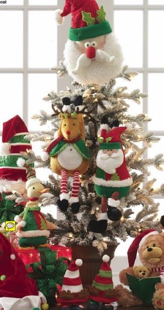 Raz christmas at shelley b home and holiday animated for Animated christmas decoration