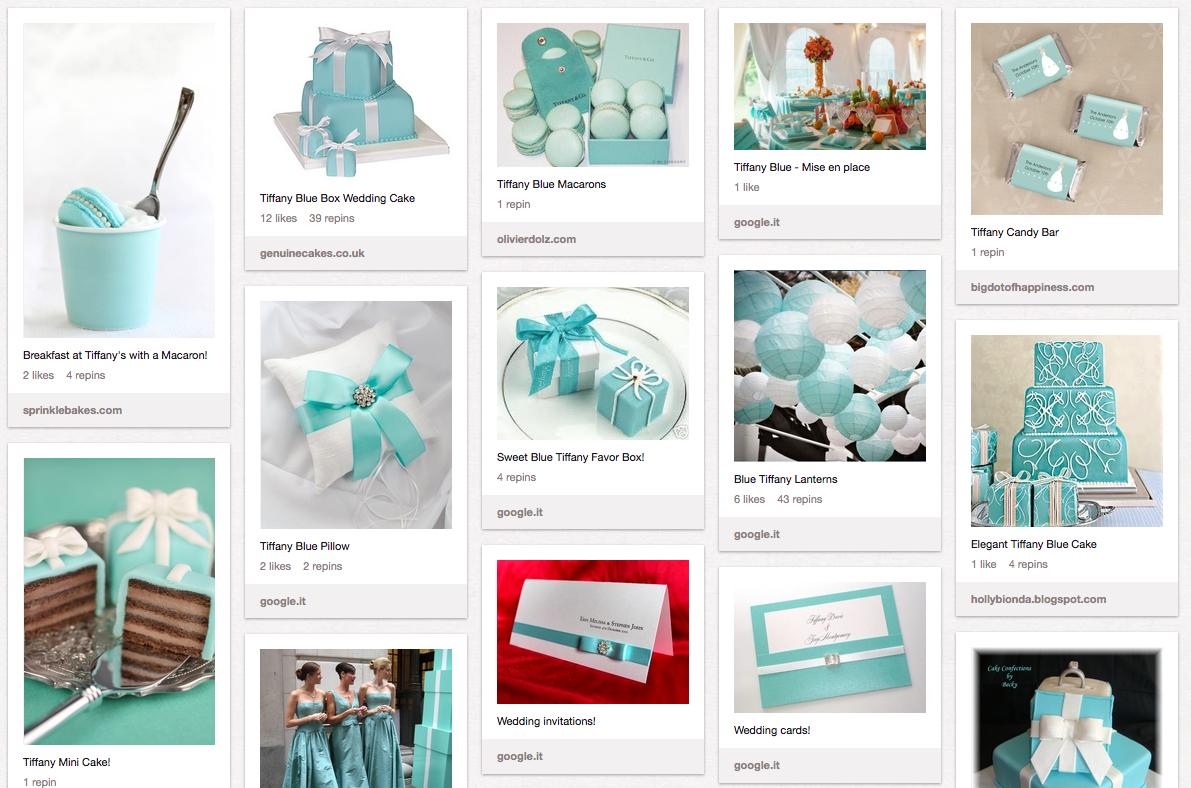 Matrimonio Tema Tiffany : Il matrimonio e pinterest idee ed ispirazioni something