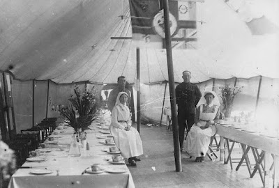 Nursing Sister WW1 Photo Album: 29R Mess Tent