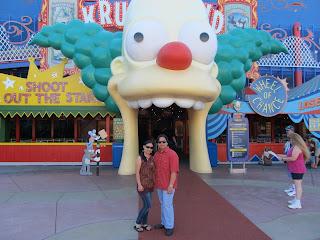 Universal Studios Florida Krustyland Simpsons Ride