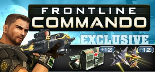 [Android] FRONTLINE COMMANDO 2.2.1 apk + SD Data