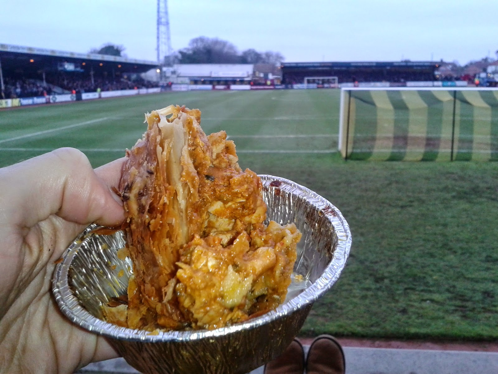 Wrights Chicken Balti Football Pie