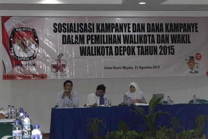 Ketua KPU : Dana Kampanye Paslon Harus Dilaporkan