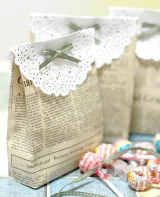 Bolsitas de papel multiusos (¡ideales para regalo!)