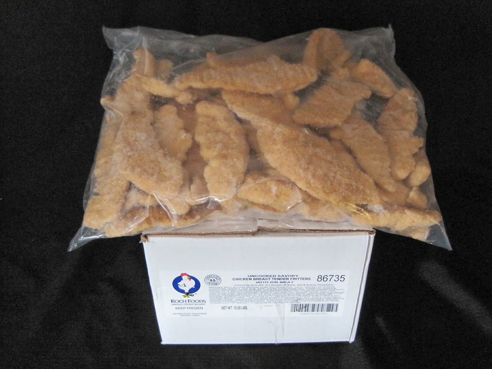 Koch Chicken Tenders 10 lb - Item # 19525
