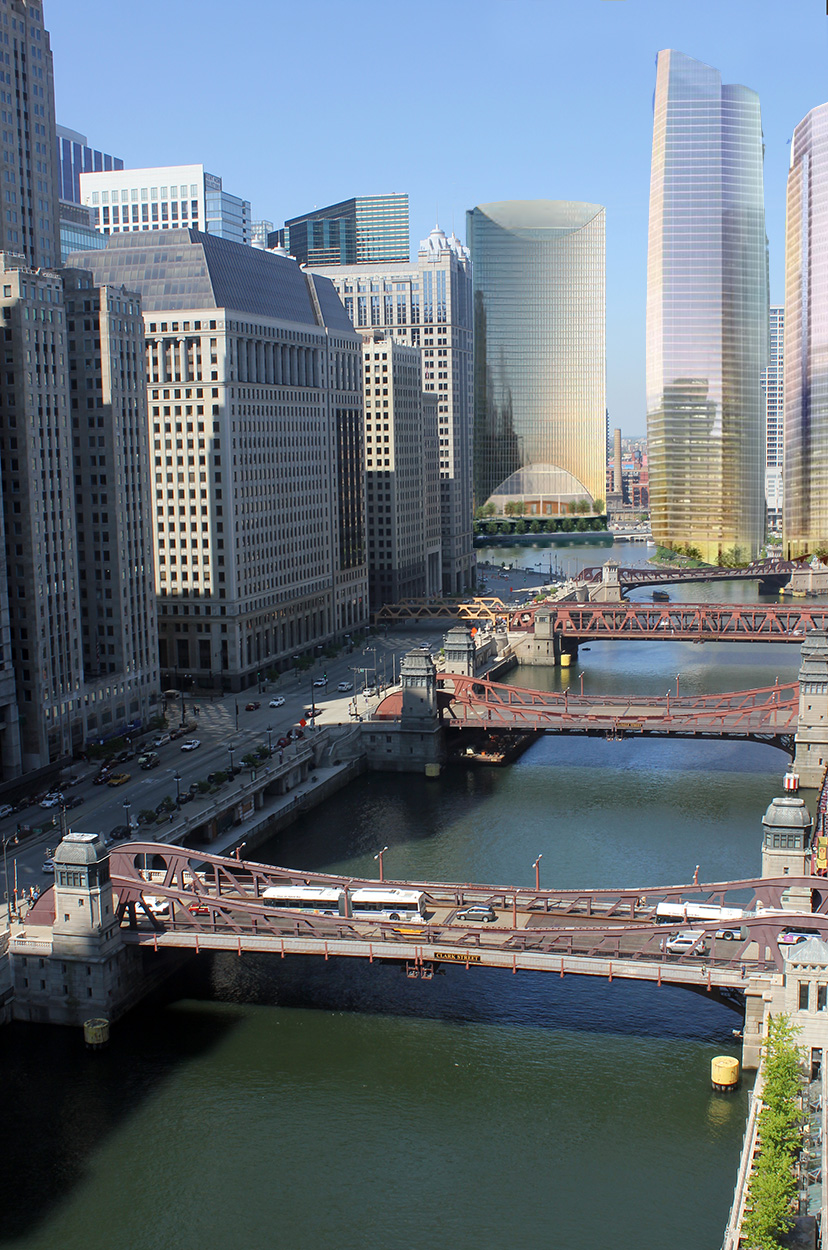 Architecturechicago plus chicago under construction the for Riverpointe