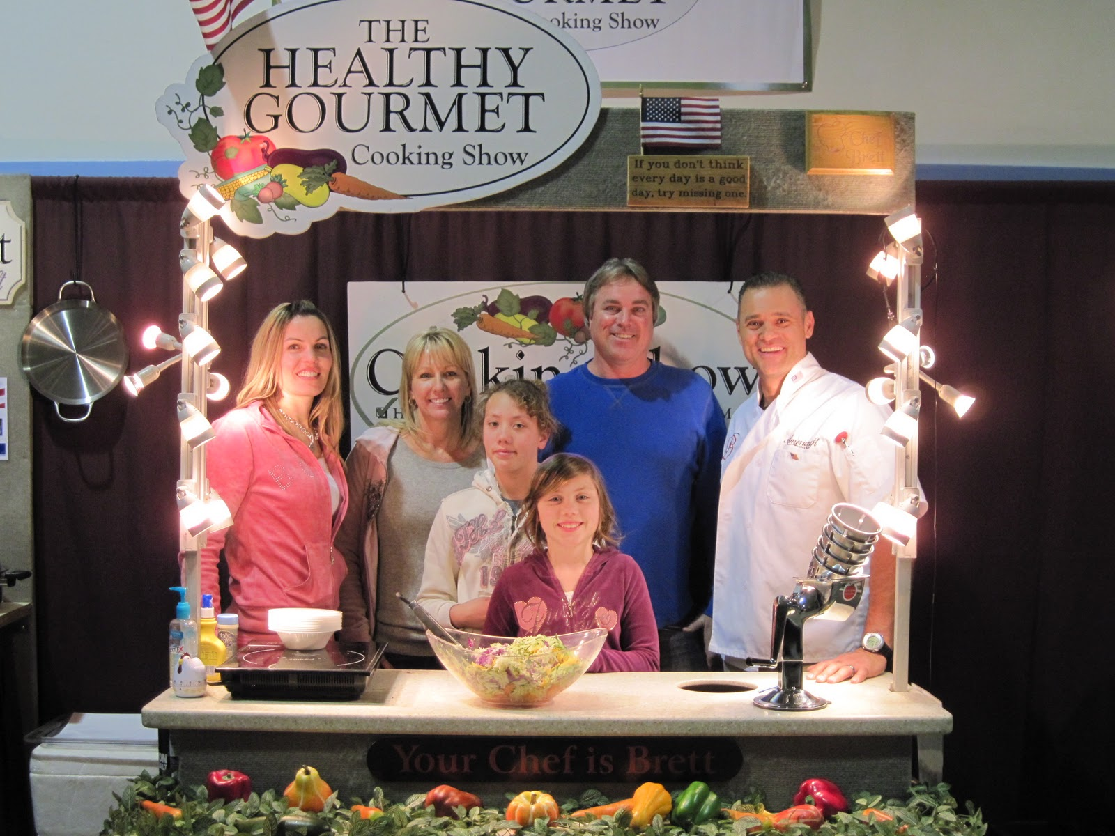 Cook 39 N Healthy With Brett Lena Home And Garden Show Bakersfield Ca