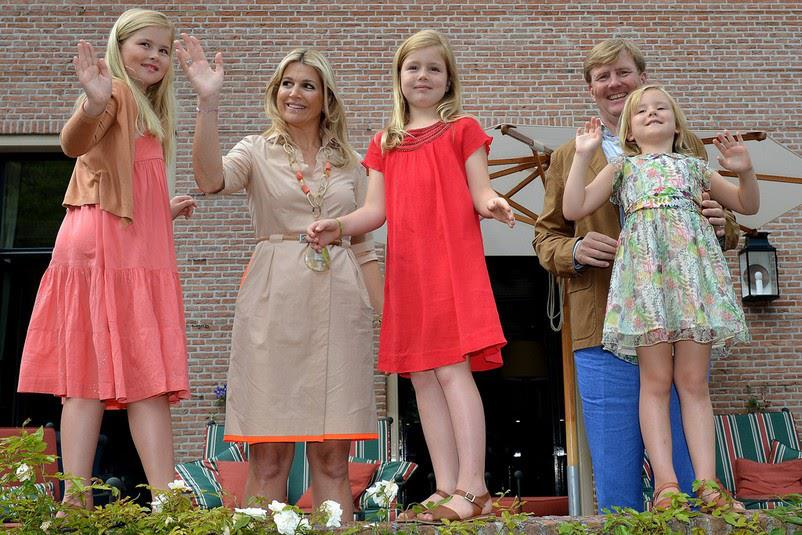 King Willem-Alexander, Queen Maxima and ...