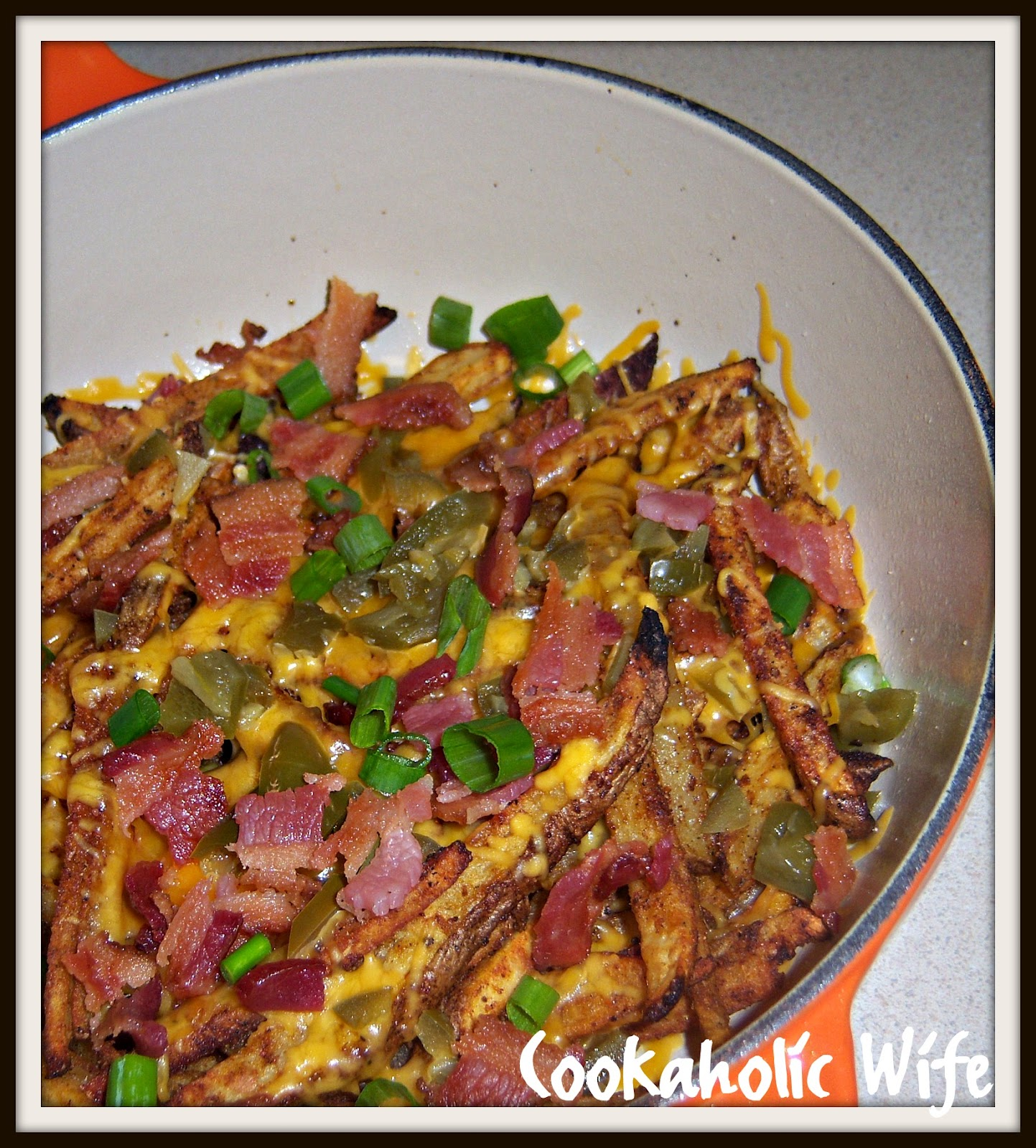 Cookaholic Wife: Skinny Texas Cheese Fries