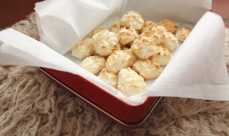 Rezept Kokosmakronen mit Quark Weihnachtsplätzchen Plätzchen Kokos Makronen