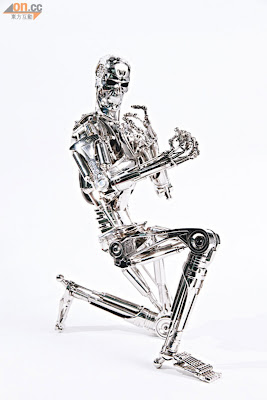 Hot Toys 2013 Preview - Terminator T-800 Endoskeleton