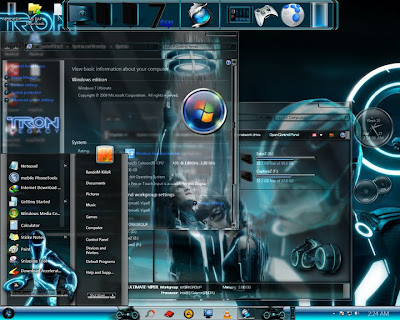 Download Theme Tron Legacy for Windows 7