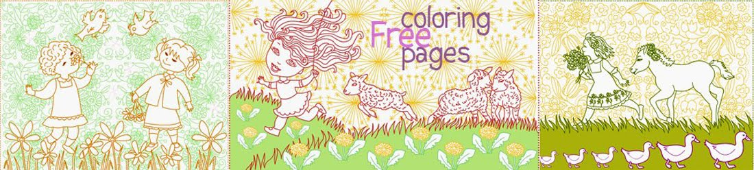 nicoles free coloring pages