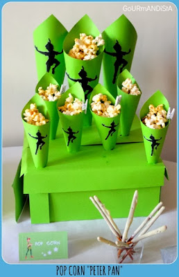 image pop corn cornet peter pan