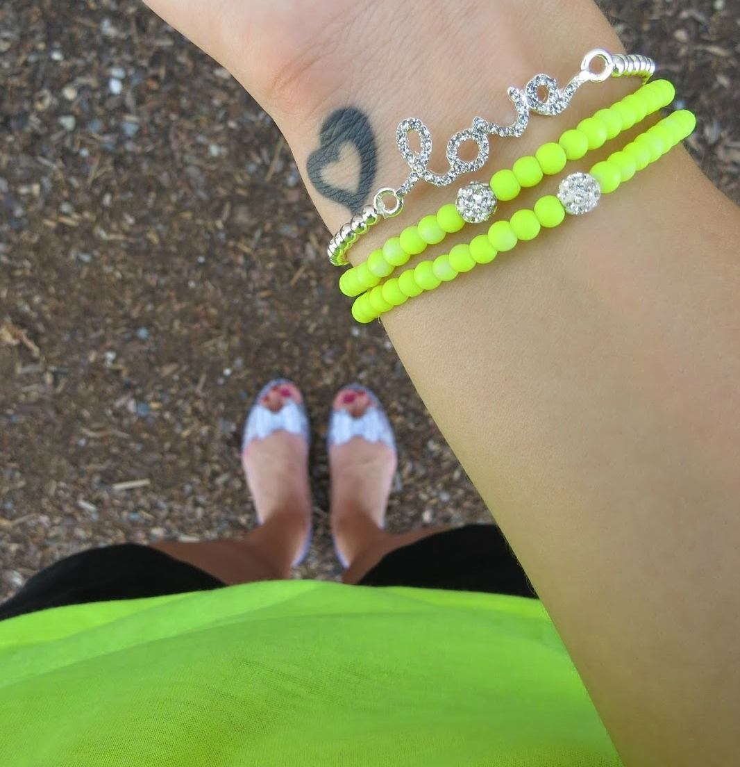Neon Bracelets