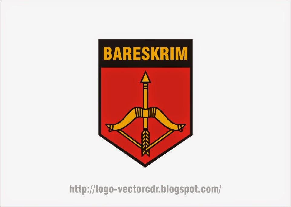 Logo Bareskrim Mabes Polri Vector format cdr