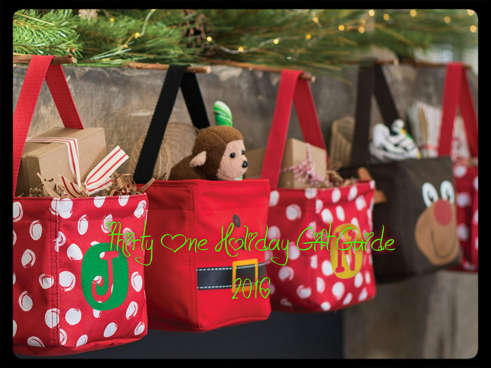 Thirty- One Gifts 2016 Holiday Gift Guide
