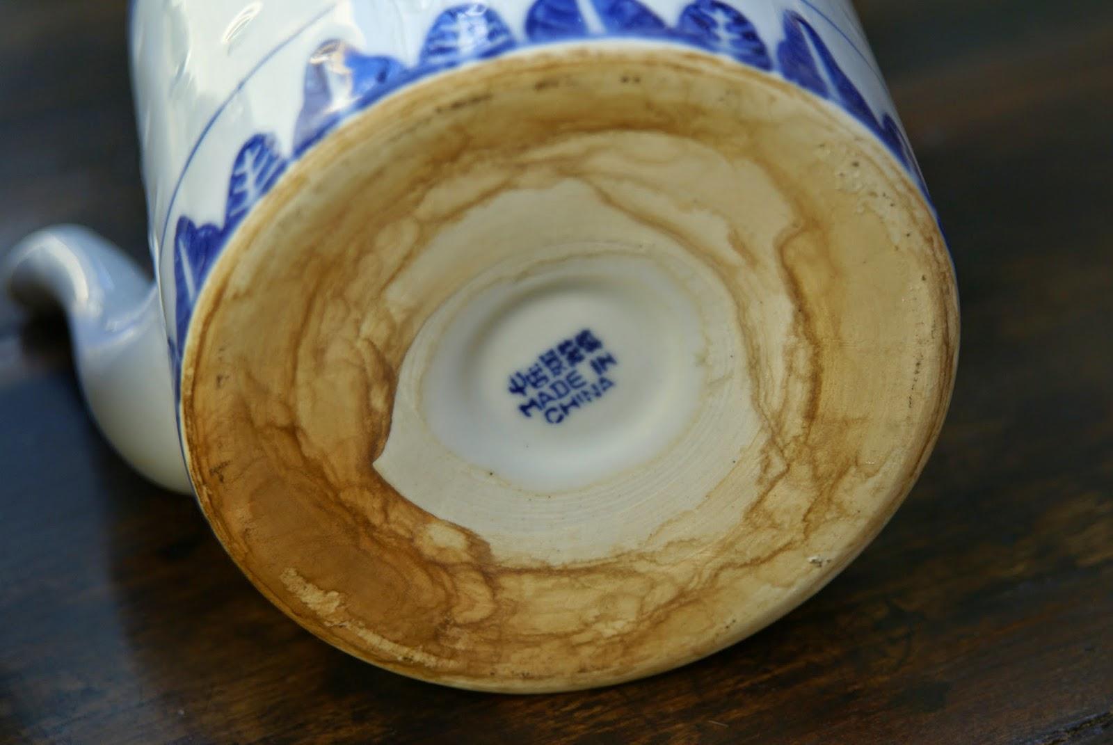 base de théière en porcelaine non frittée