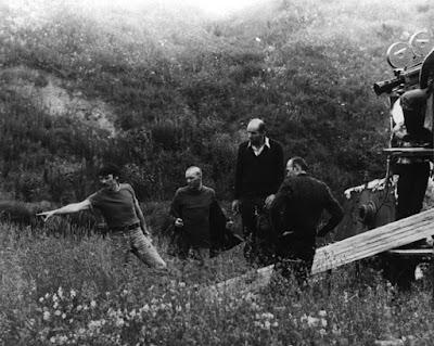 Andréi Tarkovski detrás de las cámaras Nostalgia