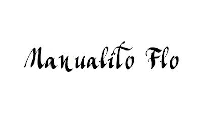 Manualito Flo Font