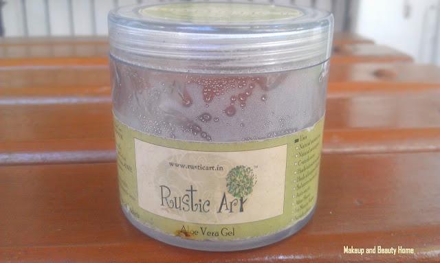 Rustic Art Aloe Vera Gel Price, Rustic Art Aloe Gel India, Rustic Art Aloe Vera Gel