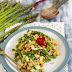 Kuskus ze szparagami i tofu