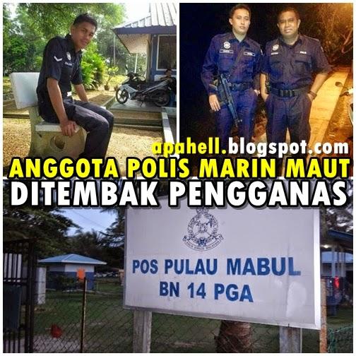 Anggota Polis Marin Maut Diserang 8 Pengganas (4 Gambar)