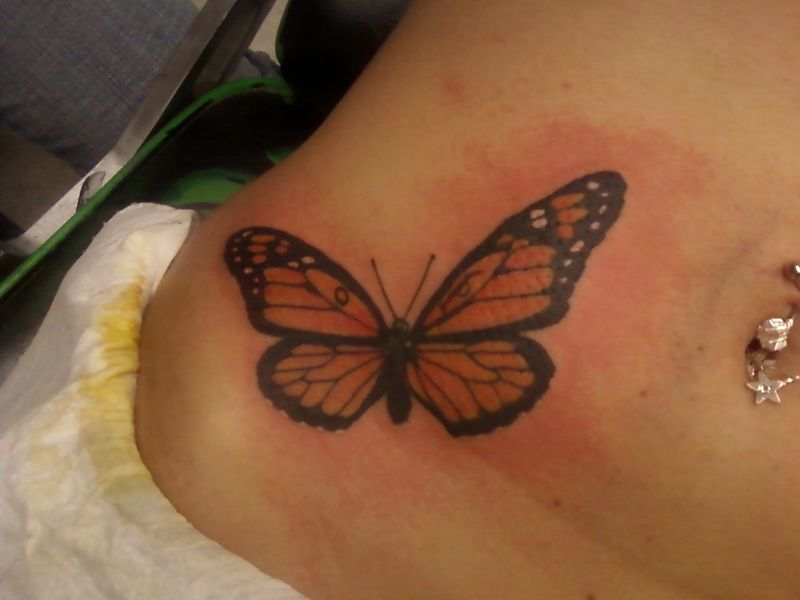 Monarch Tattoo ~ Tattoo Center