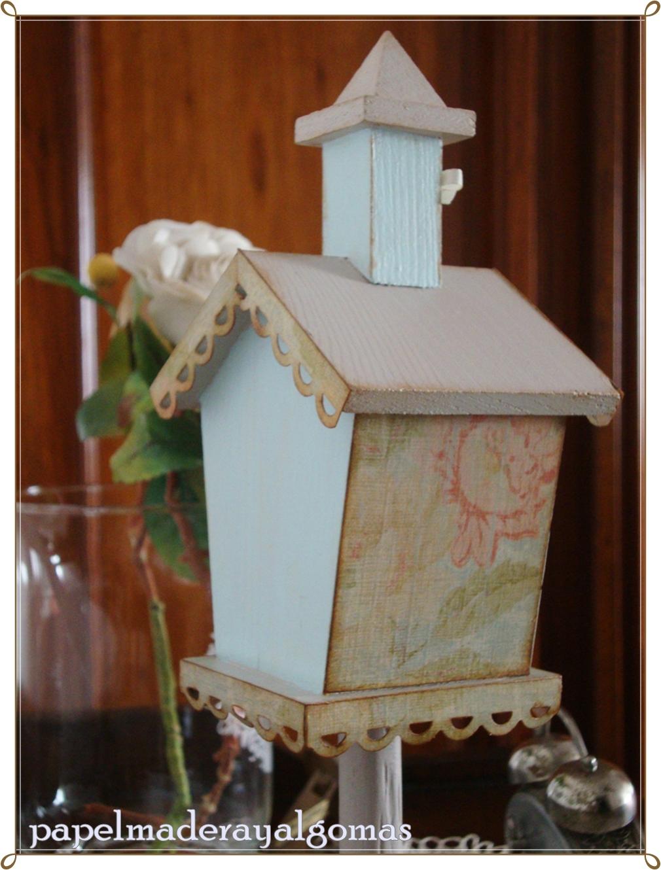 Papel madera y algo m s la casita de madera - La casita de madera ...