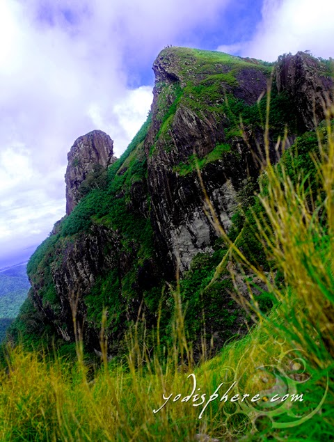 Mt. Pico de Loro view of the summit resembling the parrot's beak hover_share