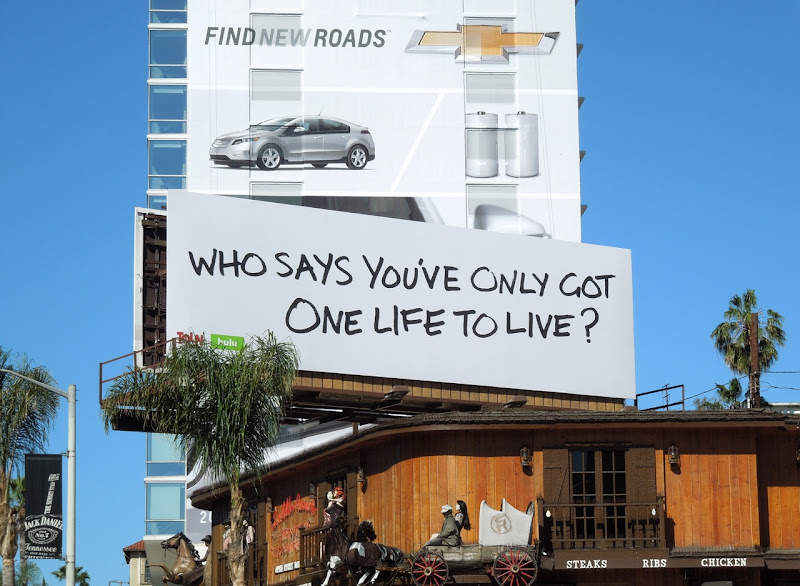 One Life To Live teaser billboard