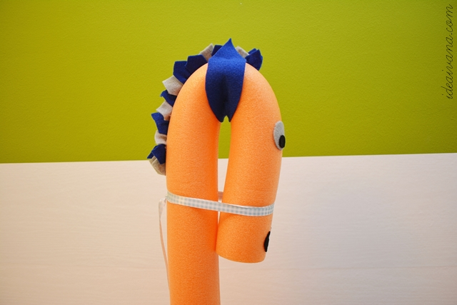 swimming noodle pony