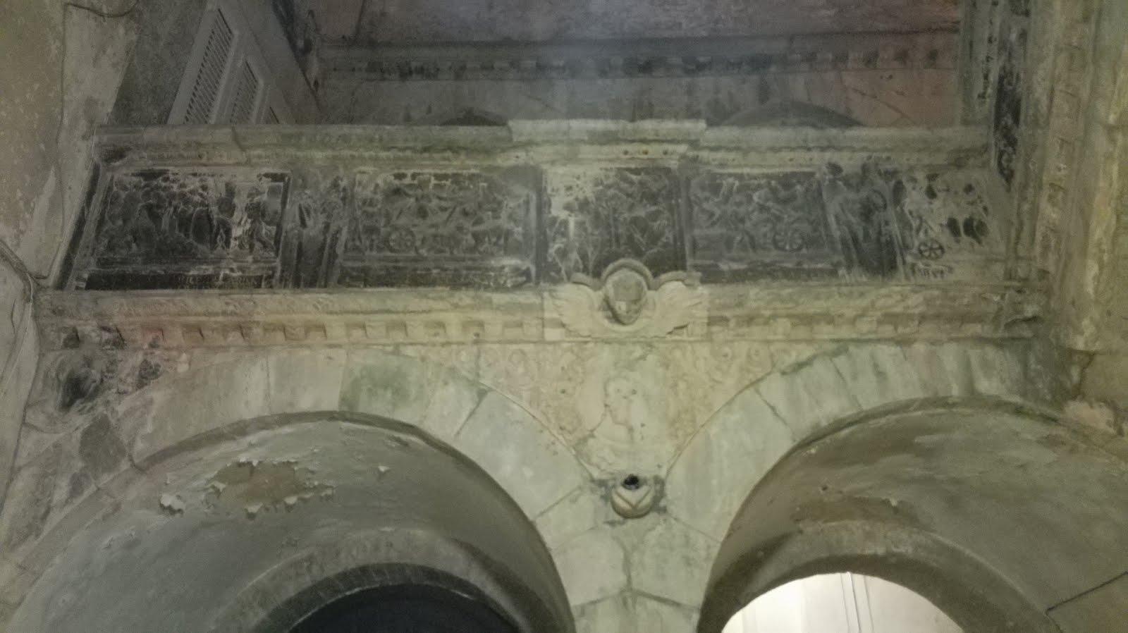 balaustra rinascimentale, palazzo spada