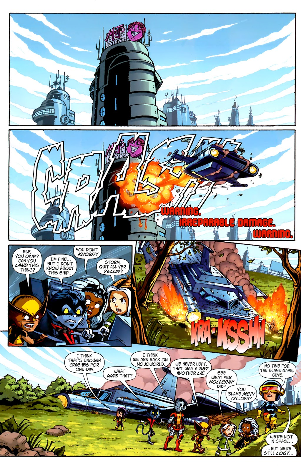 Read online X-Babies comic -  Issue #2 - 13